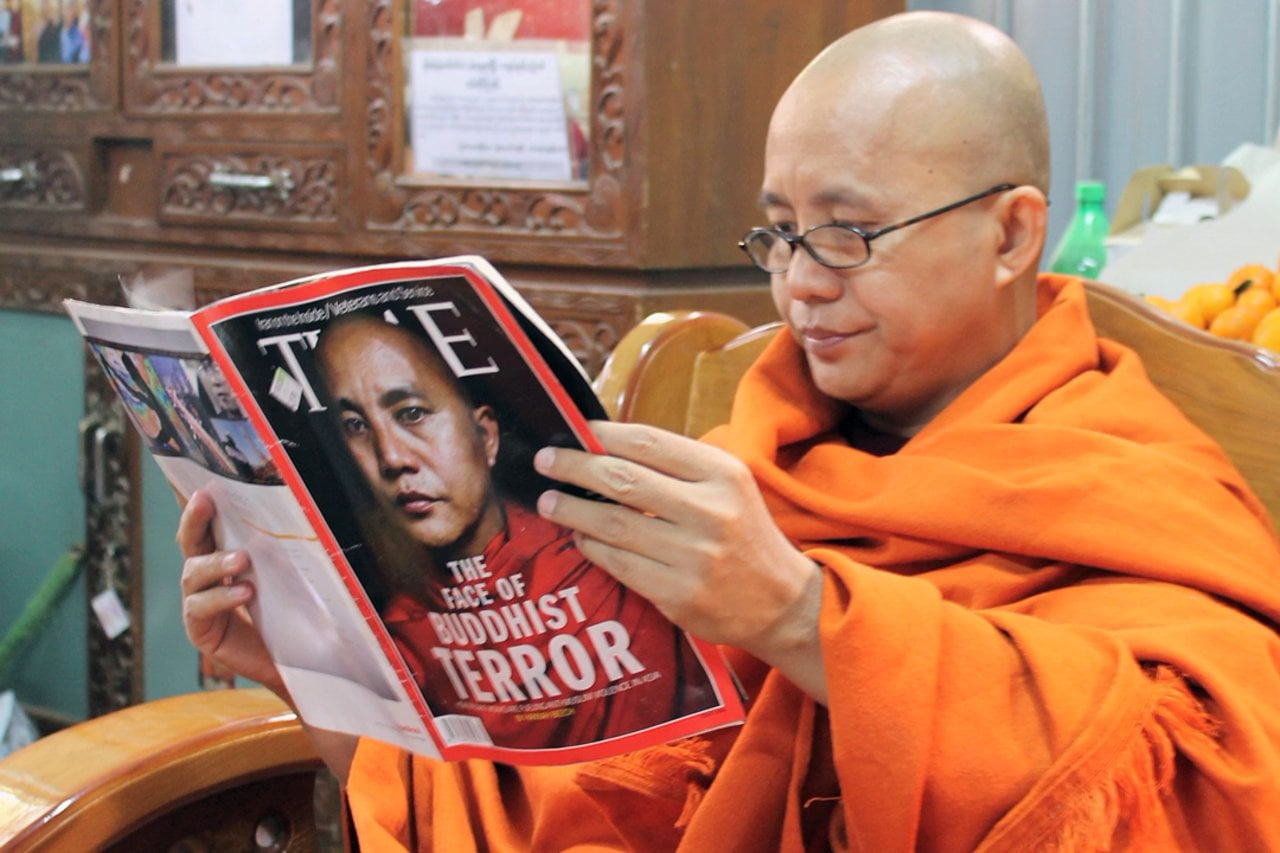Ashin Wirathu photo by  Lily and Maung Thin